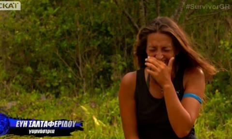 Survivor 2: Ξεκαρδίστηκε στα γέλια η Εύη με το ατύχημα του Γκότση