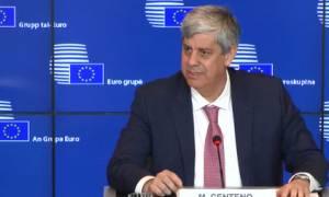 Eurogroup - Μάριο Σεντένο: Βιώσιμο το ελληνικό χρέος - Δεν θα υπάρξει άλλο μνημόνιο