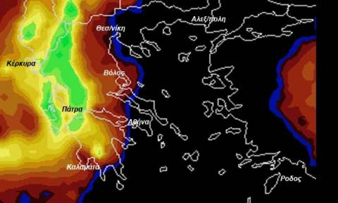 «Θέλει προσοχή, αλλά όχι πανικό» - Η νέα προειδοποίηση του Σάκη Αρναούτογλου για τον καιρό (χάρτες)