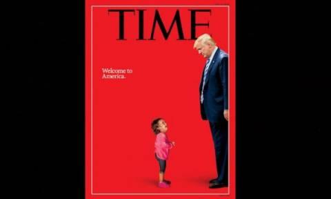 Προβοκάτσια εναντίον του Τραμπ: Αποκαλύφθηκε η αλήθεια για το εξώφυλλο του Time! (pics)