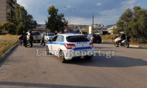 Λαμία: Περιπετειώδης καταδίωξη και σύλληψη μέσα στην πόλη (pics)