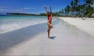 Ροδάνθη Καπαρού: Δεν πρόλαβε καλά καλά να βγει από το Survivor 2 και άρχισε τις σέξι φωτογραφίσεις!