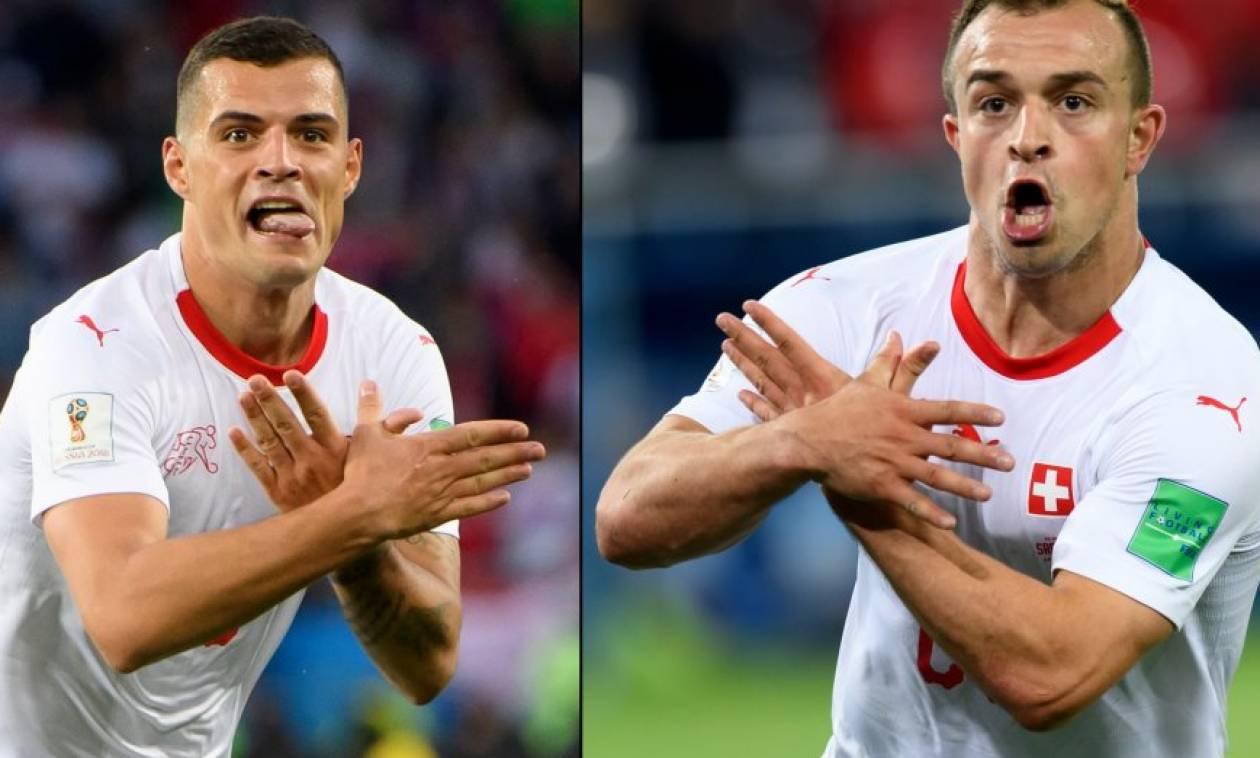 Μουντιάλ 2018: Έρευνα της FIFA για τον «αλβανικό αετό» των Σακίρι - Τσάκα