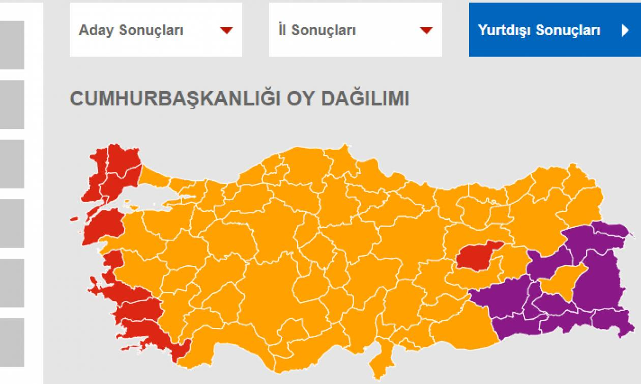 Τουρκία Εκλογές: Αυτά είναι τα τελικά αποτελέσματα
