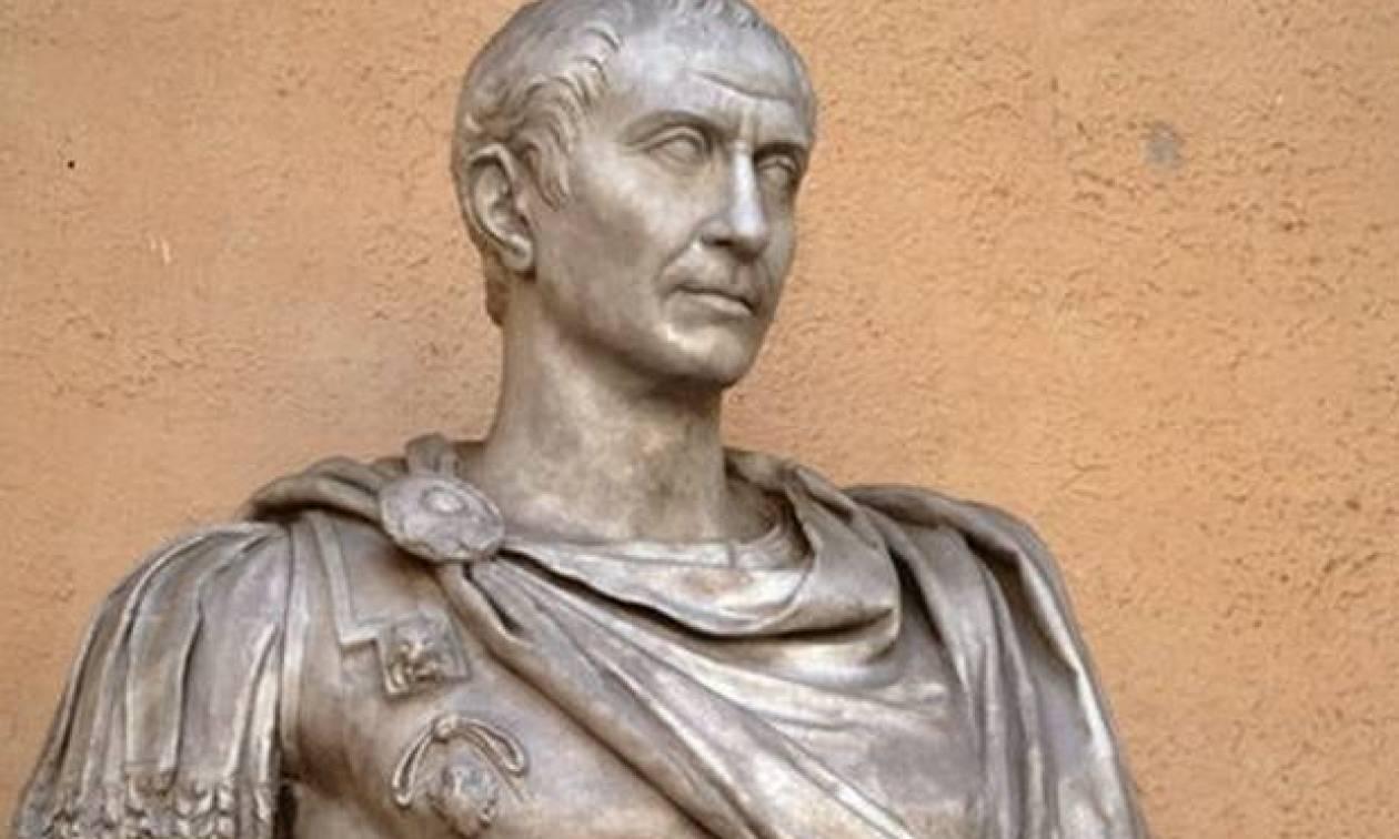 Δείτε πώς ήταν ο Ιούλιος Καίσαρας - Είχε αρκετά μεγάλο εξόγκωμα στο κεφάλι του! (pic)