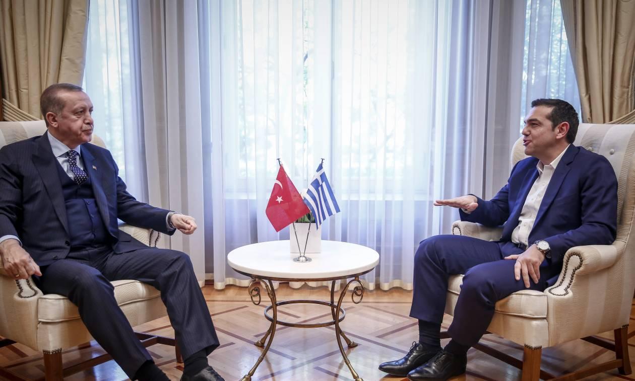 Τσίπρας σε Ερντογάν: Απελευθερώστε άμεσα τους δύο Έλληνες στρατιωτικούς