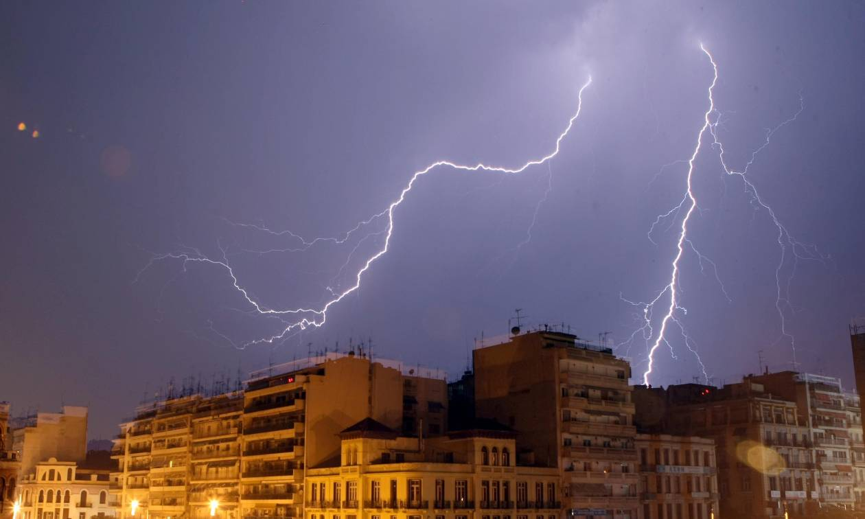 Έκτακτο δελτίο ΕΜΥ: Έρχεται τριήμερο με ισχυρές καταιγίδες!