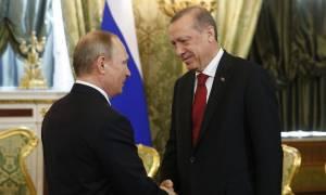 Συγχαρητήρια Πούτιν σε Ερντογάν για την επανεκλογή του