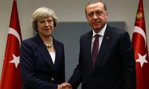 Συγχαρητήρια Μέι σε Ερντογάν για την εκλογική του νίκη