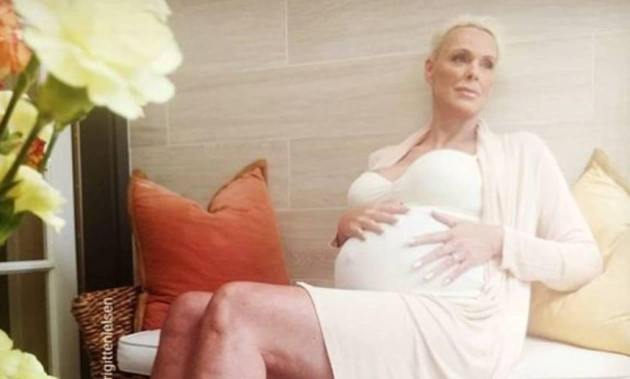Ξανά μητέρα στα 54 η πρώην σύζυγός του Σταλόνε, Μπριγκίτε Νίλσεν