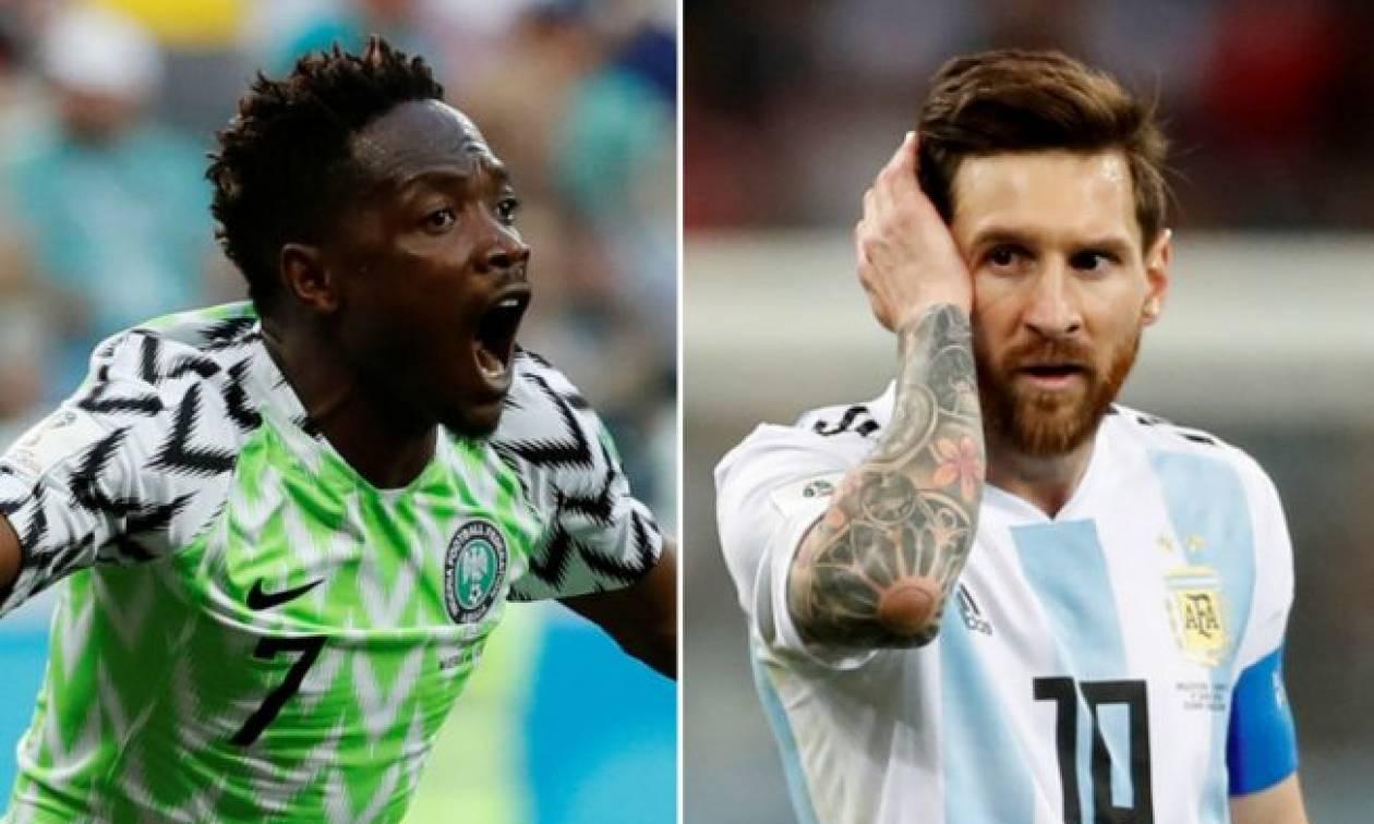 Μουντιάλ 2018: Τελευταία… ζαριά για Αργεντινή και Νιγηρία