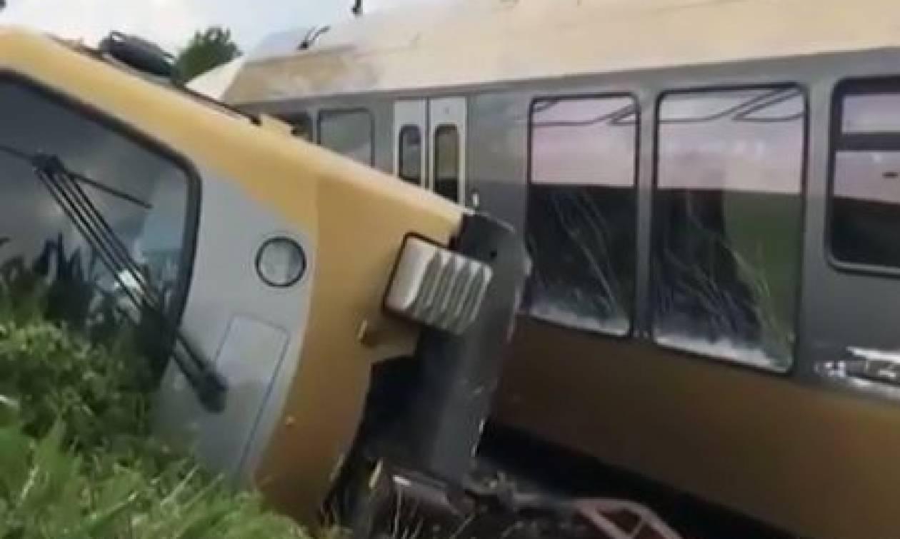 Εκτροχιασμός τρένου στην Αυστρία: Τουλάχιστον δύο άνθρωποι τραυματίστηκαν σοβαρά (vid)