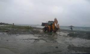 Καιρός: Κλειστός παραμένει ο δρόμος Αγιοκάμπου – Σκλήθρου στον δήμο Αγιάς λόγω λάσπης