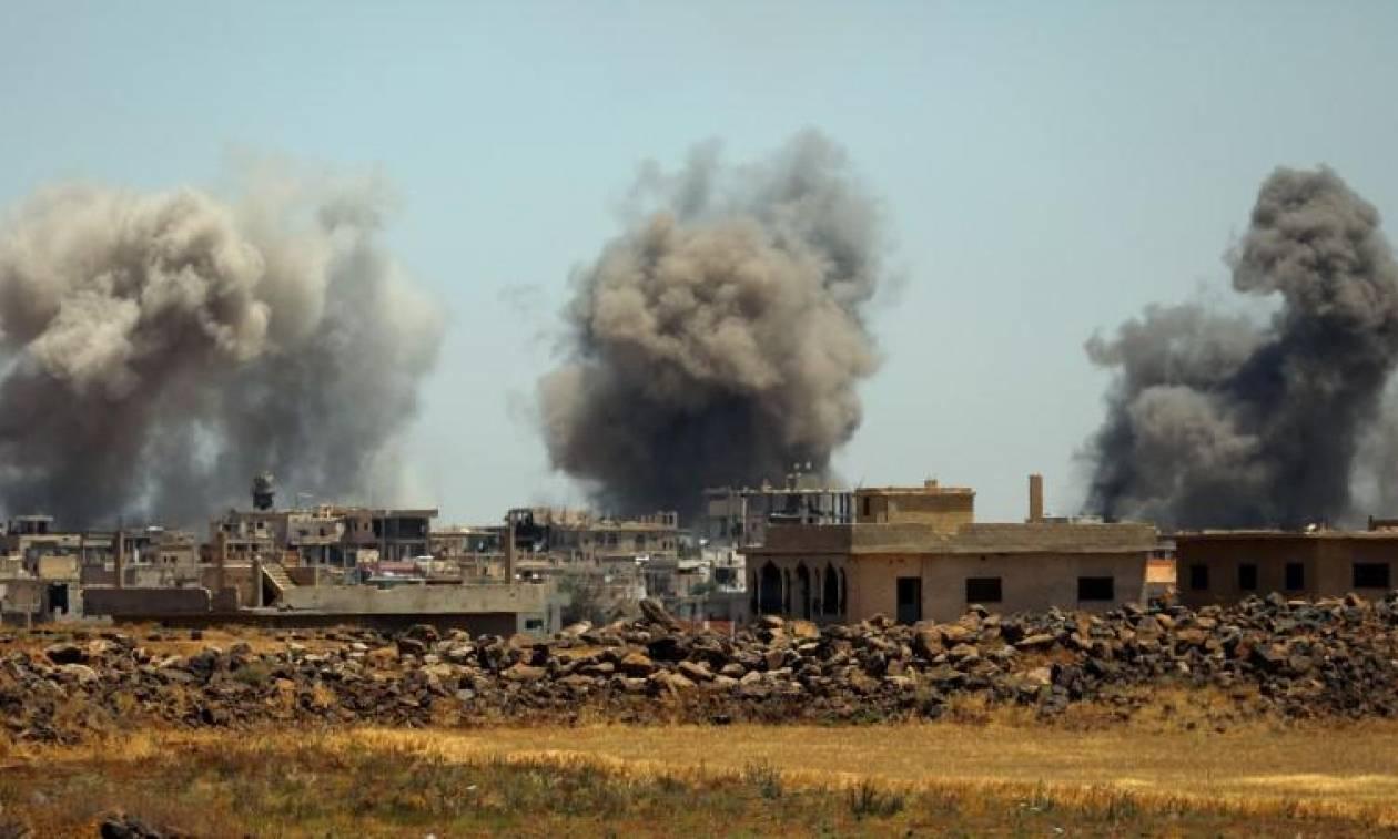Συρία: Ξεκίνησαν αεροπορικοί βομβαρδισμοί στην Ντεράα