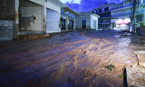 Rainfall causes minor problems in central, northern Greece