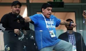 Παγκόσμιο Κύπελλο Ποδοσφαίρου 2018: Η συγγνώμη του Μαραντόνα για το... σόου στο Νιγηρία-Αργεντινή