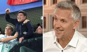 Μουντιάλ 2018 - Λίνεκερ για Μαραντόνα: Φοβάμαι πως κινδυνεύει…