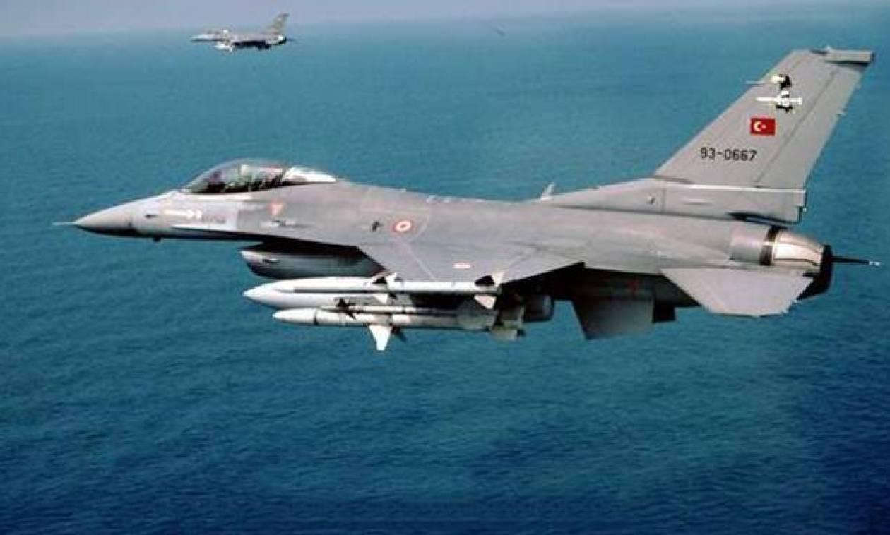 Συναγερμός στο Αιγαίο για παραβιάσεις από οπλισμένα τουρκικά αεροσκάφη