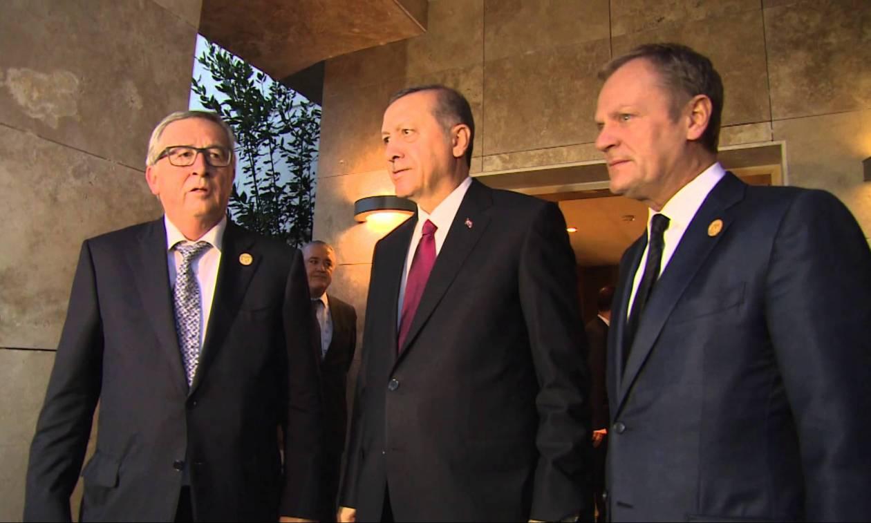 Τουρκία: Συγχαρητήρια επιστολή Γιούνκερ - Τουσκ στον Ερντογάν