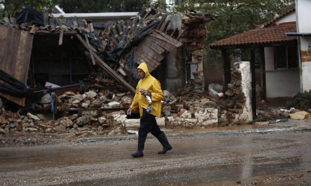 Μάνδρα: Αγωνία και απόγνωση μέσα στις λάσπες - Φόβοι ότι η «Νεφέλη» θα χτυπήσει ξανά τη Δ. Αττική