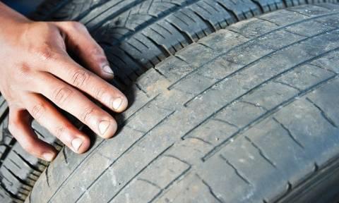 На Кипре 75% автомобилей ездят на изношенных шинах