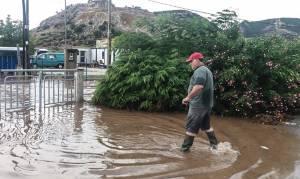 Καβάλα: «Βυθίστηκε» η Χρυσούπολη – Αποκλεισμένο το Χαλκερό (pics)