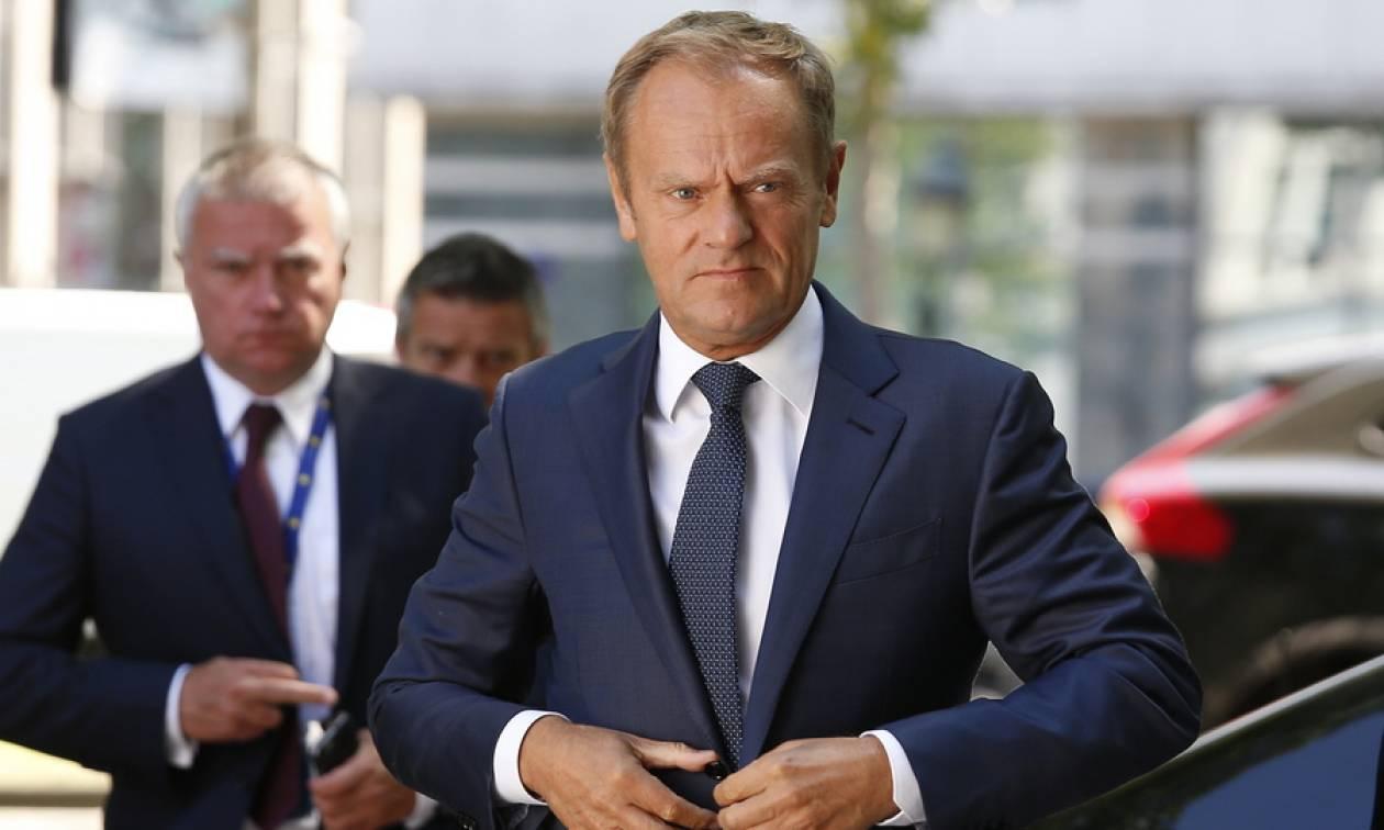 Τουσκ: Παράδειγμα προς μίμηση για την επίλυση διαφωνιών η συμφωνία Ελλάδας - Σκοπίων
