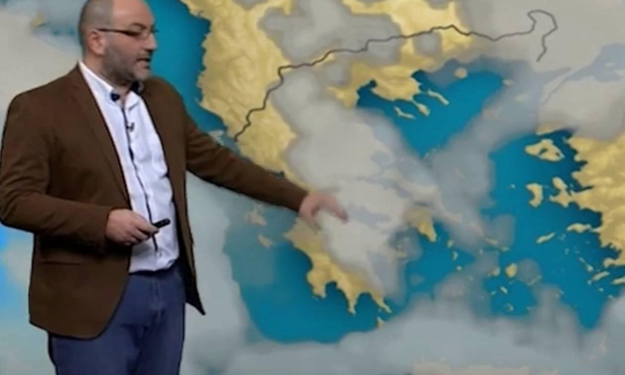 Καιρός: Η ενημέρωση του Σάκη Αρναούτογλου για την επερχόμενη άνοδο της θερμοκρασίας (photo)