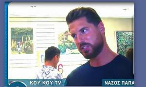Ο Νάσος Παπαργυρόπουλος περιγράφει: «Βρήκα αποφάγια σκύλων με σκουλήκια και τα φάγαμε στο Survivor»