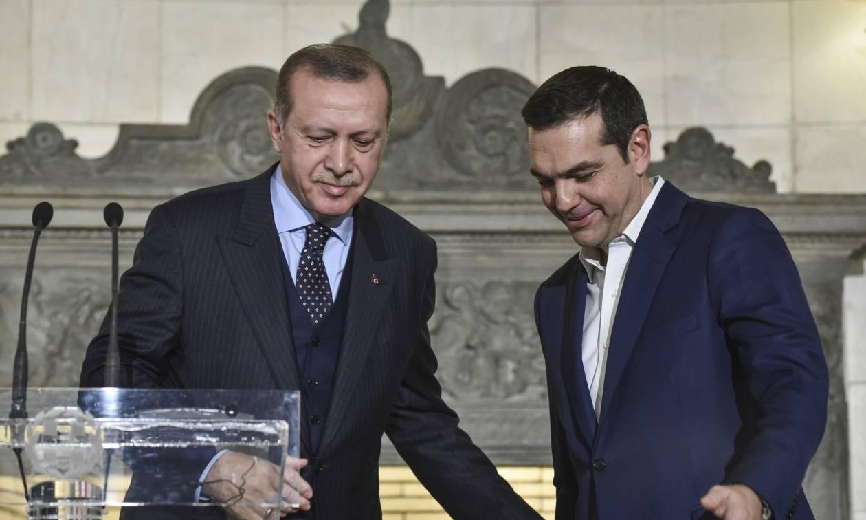 Τσίπρας: Ο Ερντογάν έθεσε εμμέσως θέμα ανταλλαγής των δύο Ελλήνων με τους «8»