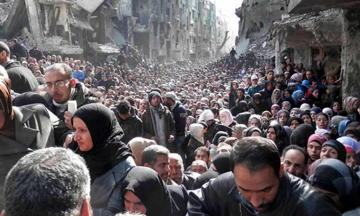 Υπερτριπλασιάστηκε ο αριθμός των εκτοπισμένων από τις συγκρούσεις στη νότια Συρία