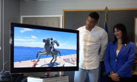 Giannis Antetokounmpo features in new video promoting Greek tourism