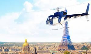 Συμβαίνει και στη Γαλλία: Ληστής δραπέτευσε με ελικόπτερο από φυλακή κοντά στο Παρίσι (pics)