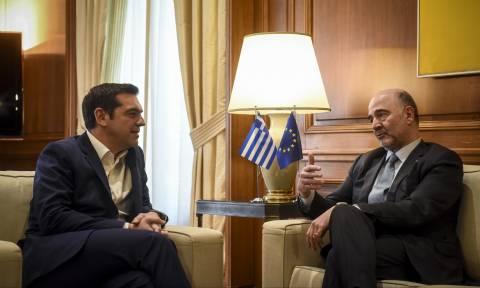 Διήμερη επίσκεψη Μοσκοβισί στην Αθήνα: Το ραντεβού με Τσίπρα και η ομιλία στη Βουλή