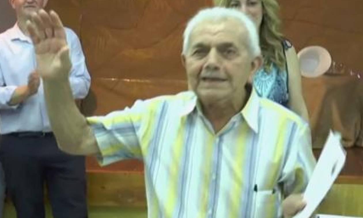 Πατρινός πήρε απολυτήριο Γυμνασίου σε ηλικία 83 ετών