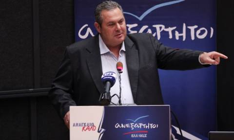 «Βόμβα» Καμμένου: Με δημοψήφισμα ή εκλογές θα κριθεί η συμφωνία για τα Σκόπια