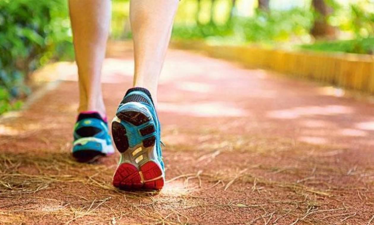 Πόσα βήματα το λεπτό είναι το περπάτημα που συστήνουν οι γιατροί