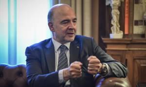Μοσκοβισί: Η Ελλάδα έχει τις δυνατότητες να επιστρέψει «στην κανονικότητα»
