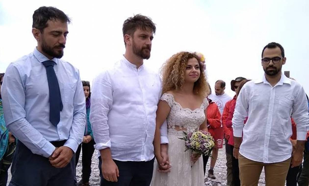 Πρωτότυπος και ξεχωριστός γάμος στη κορυφή του Ταϋγέτου