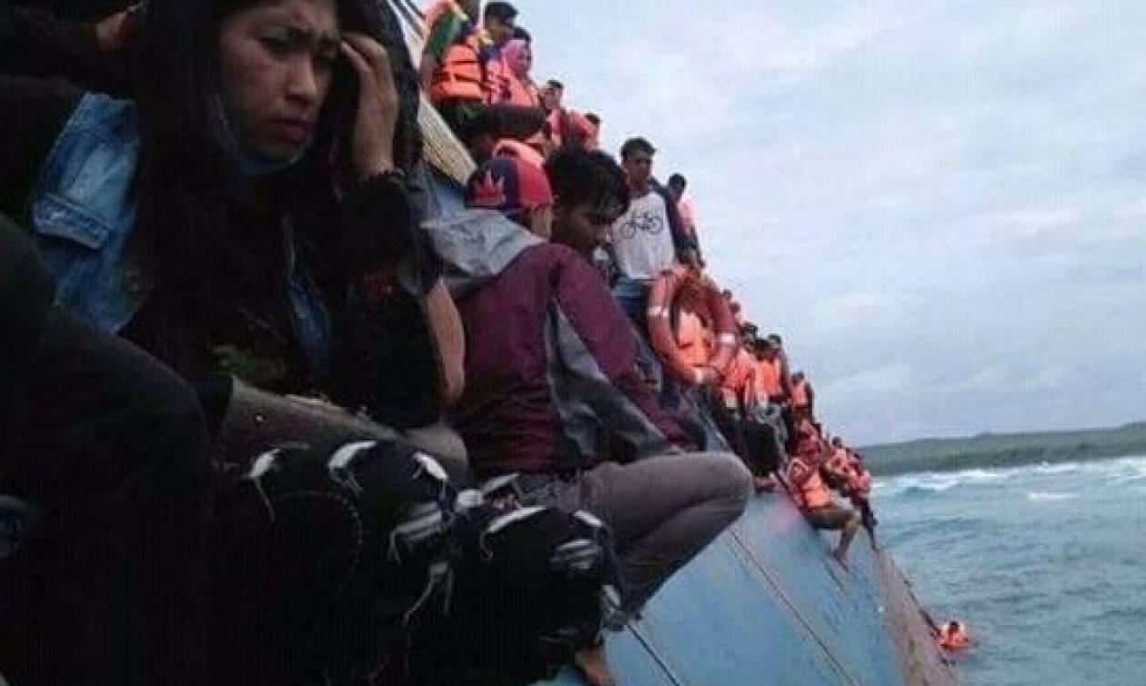 Δραματικές εικόνες από ναυάγιο φέρι μποτ σοκάρουν τον πλανήτη