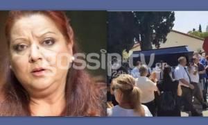 Τζέσυ Παπουτσή: Πλήθος κόσμου στην κηδεία της αγαπημένης ηθοποιού