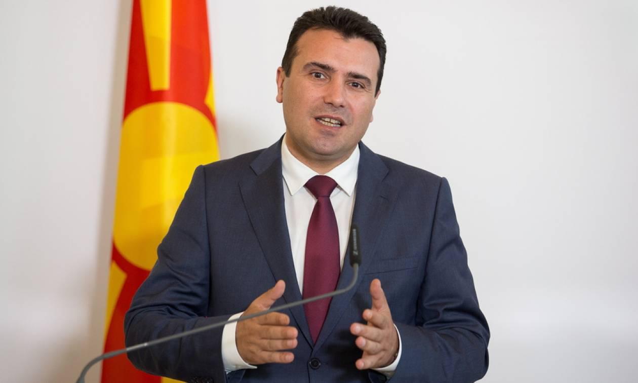 Ζάεφ: Τέλος Σεπτεμβρίου το δημοψήφισμα για τη συμφωνία των Πρεσπών