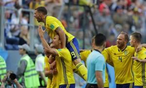 Παγκόσμιο Κύπελλο Ποδοσφαίρου 2018: Με... καραμπόλα στους «8» η Σουηδία!