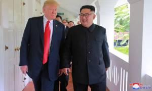 Τραμπ: Οι συνομιλίες με τη Βόρεια Κορέα πηγαίνουν καλά