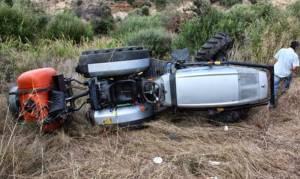 Τραγωδία στην Ημαθία: Νεκρός 52χρονος που καταπλακώθηκε από τρακτέρ