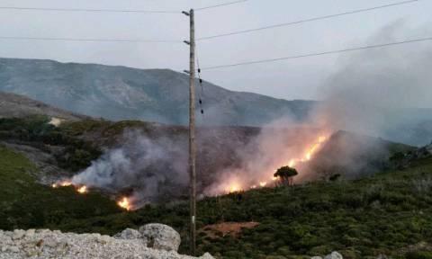 Φωτιά ΤΩΡΑ: «Μάχη» με τις φλόγες για δεύτερη ημέρα στα Χανιά (vid)