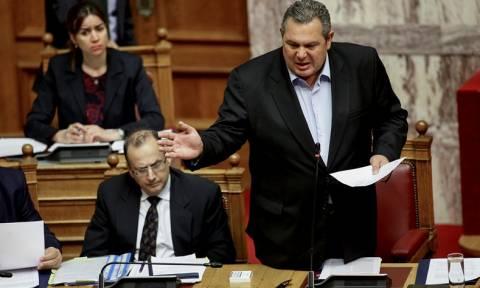 Βουλή Live – Καμμένος: Γιατί να ρίχναμε την κυβέρνηση; Για να κάναμε τη χάρη στην τρόικα εσωτερικού;