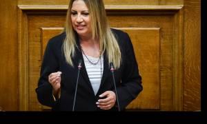 Γεννηματά: Κατώτεροι των περιστάσεων Τσίπρας και Μητσοτάκης