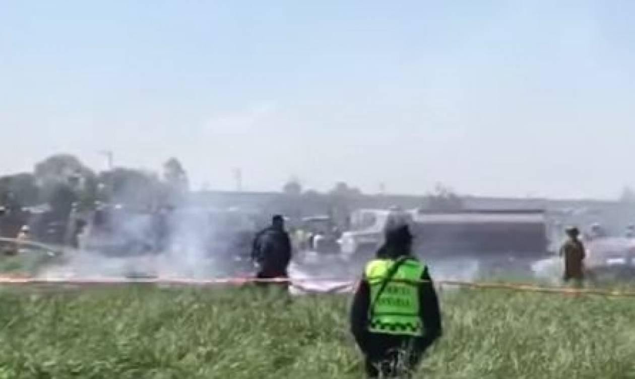 Μεξικό: Τουλάχιστον 16 νεκροί από έκρηξη σε αποθήκη πυροτεχνημάτων (vid)