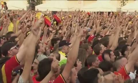 Μουντιάλ 2018: Οι έξαλλοι πανηγυρισμοί των Βέλγων στα γκολ κατά της Βραζιλίας (vid)